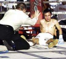 El boxeador herido